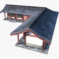 Chinese Palace Low Poly 11