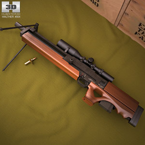 3D model walther wa 2000