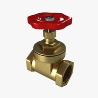 3D gate valve