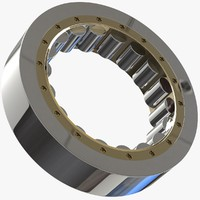 engineered bearings 3D model