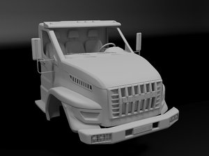 ural body 3D