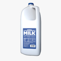 Milk Jug - Half Gallon