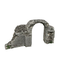 Ruined Arched Wall 04