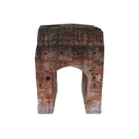 Ruined Arched Wall 02