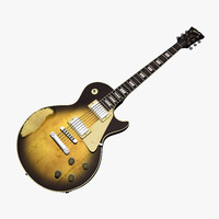 old gibson les paul 3D model