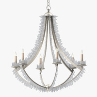 currey company saltwater chandelier 3D model