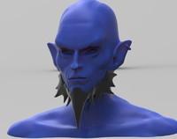 ryze human 3D model