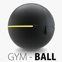 3D - technogym ball