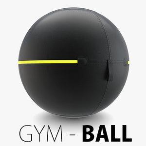 3D - technogym ball