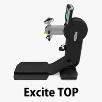 - excite technogym 3D model