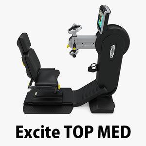 3D - excite med technogym model