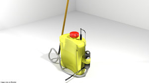 3D model compression spray sprayer