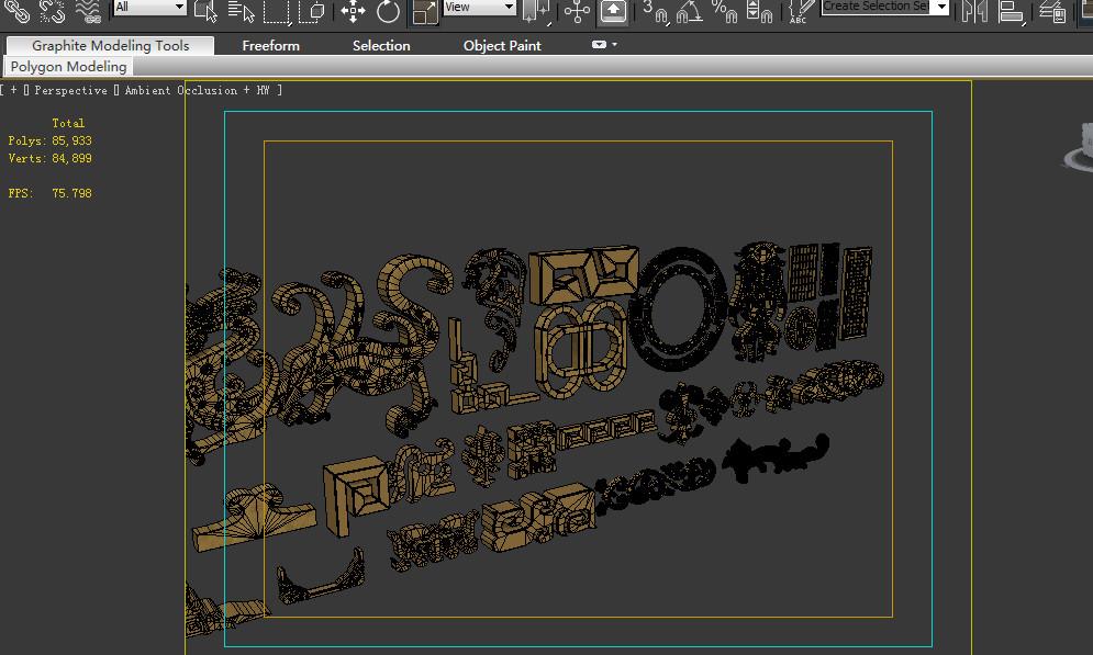 set decor 3D