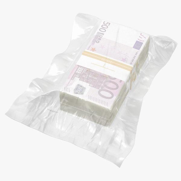 3D money bill wrap