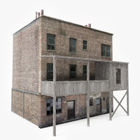 3D ready abandoned building games