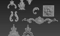 3D set cartouche