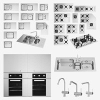 barazza cooktop taps 3D