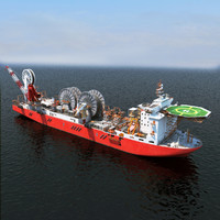 Spool Ship / Cable Laying Vessel / Pipe Laying Vessel