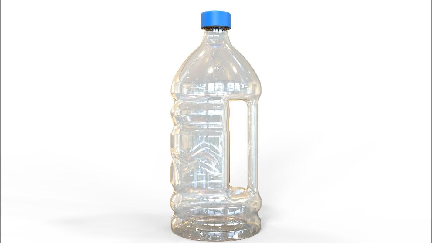 bottle water 3D model