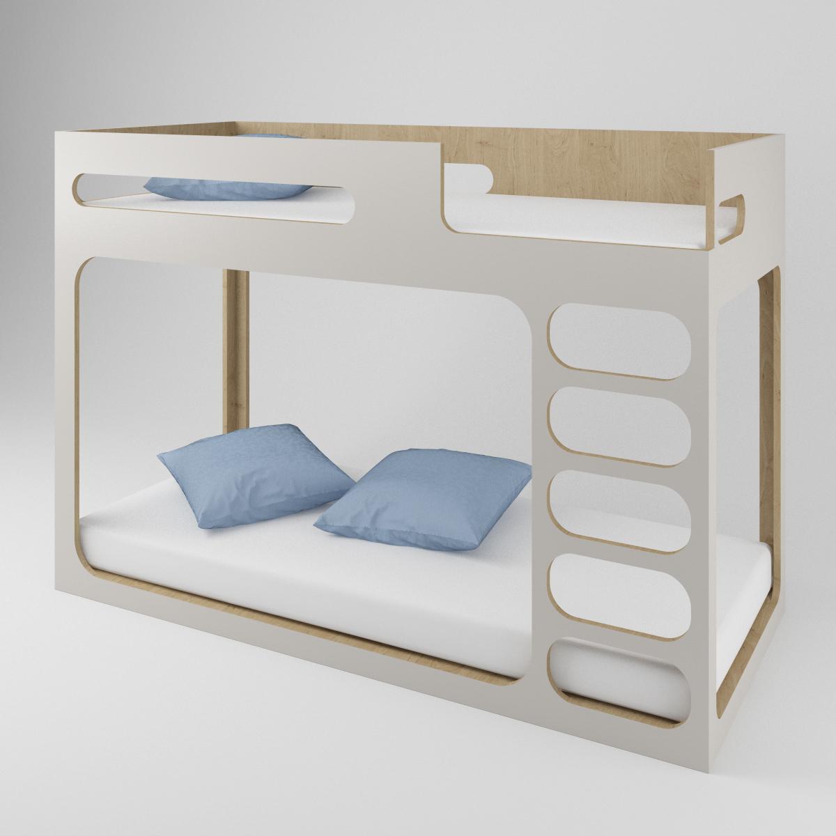 Perludi Bed for children - bunk bed - modern - Hochbett
