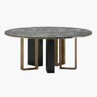 3D model herve table