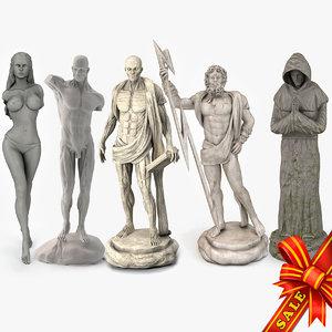 3D statues st model