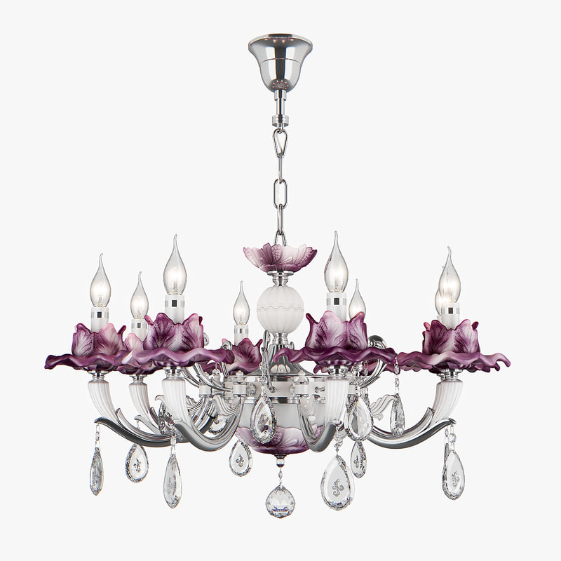 3D model chandelier 714084 anemone osgona