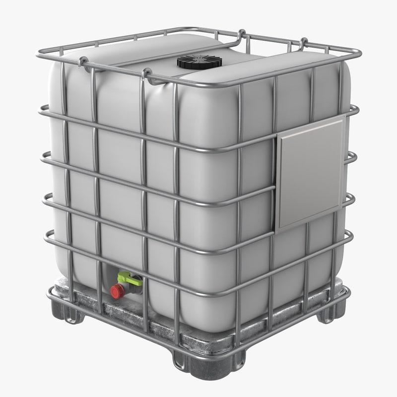 3D intermediate bulk container