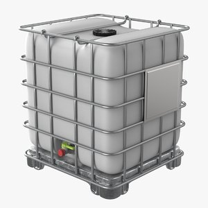 3D intermediate bulk container