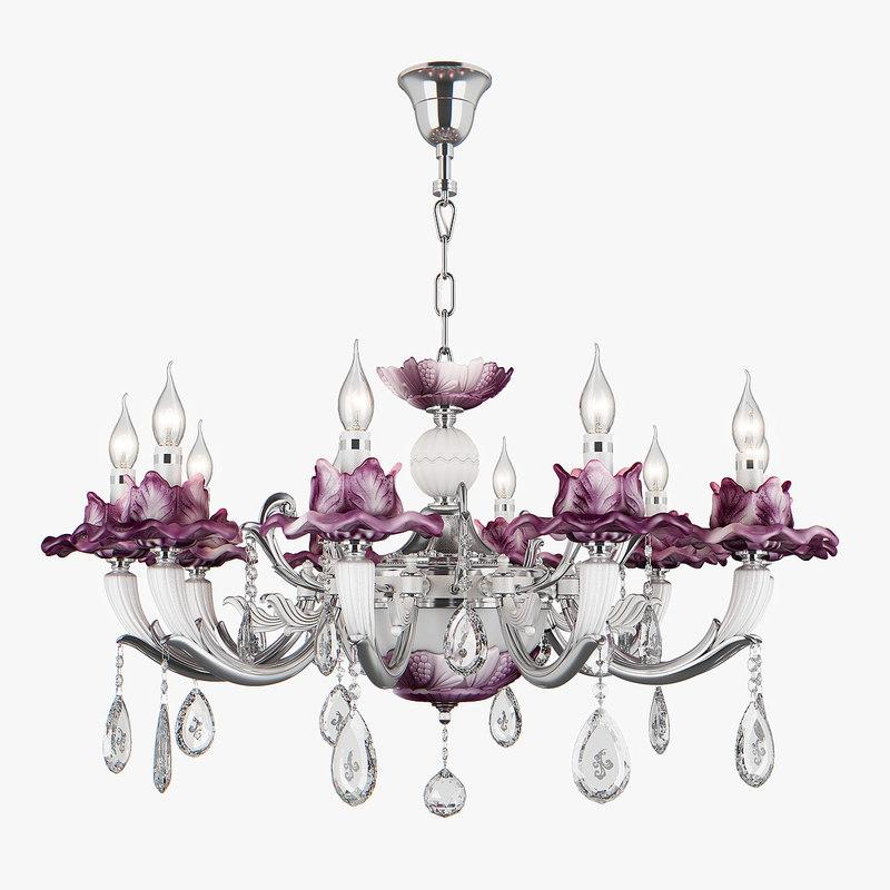 3D chandelier 714104 anemone osgona