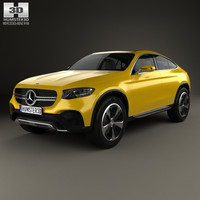 mercedes-benz glc coupe 3D
