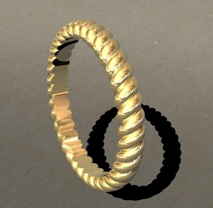 rope ring 3D model