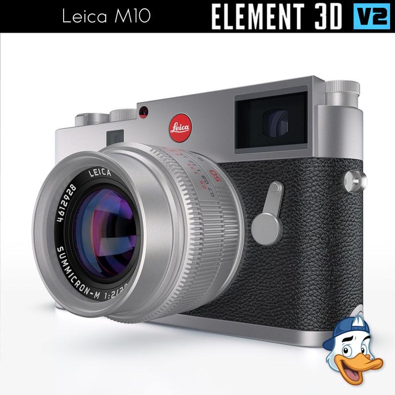 3D leica m10 element model