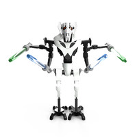 LEGO General Grievous High poly and Game model
