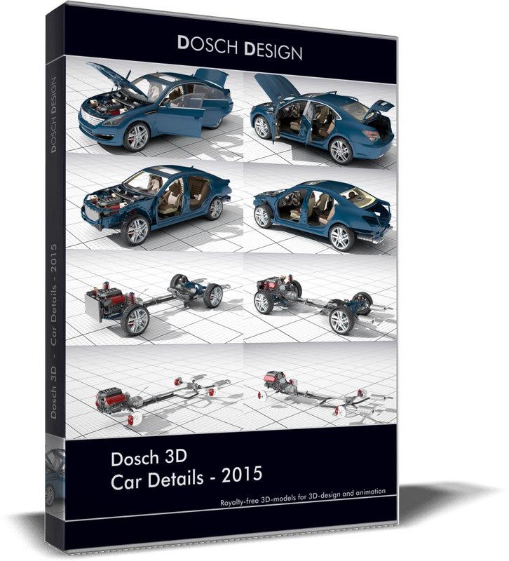 car details 2015 3D