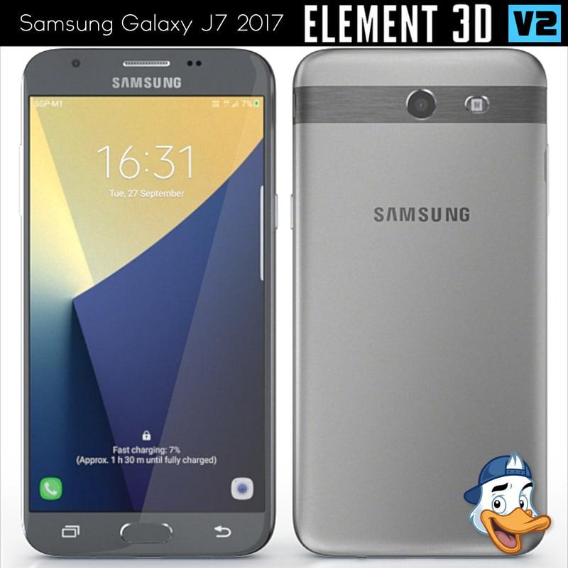 Samsung galaxy j7 for element 3d - Samsung Galaxy J7 2017 3d