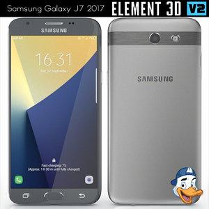 samsung galaxy j7 2017 3D