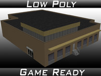 factory building 18 3D model