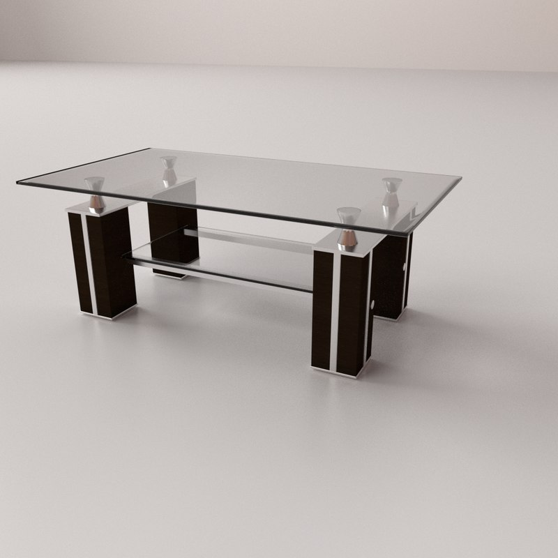 3D coffee table v2 model