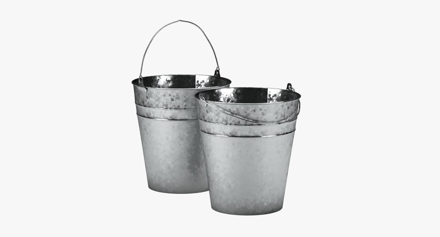 3D cleaning galvanized metal model