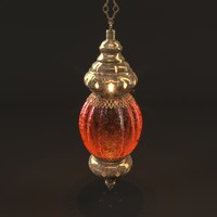 turkish lantern lighting 3D