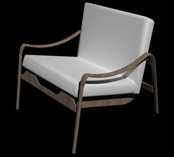 3D chair poltrona onix