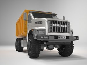 3D ural dump model