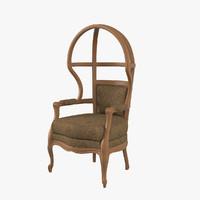 porter chair 3D model
