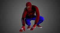 human spider 3D model