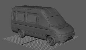 3D model van