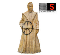 casting mold statue 3D model