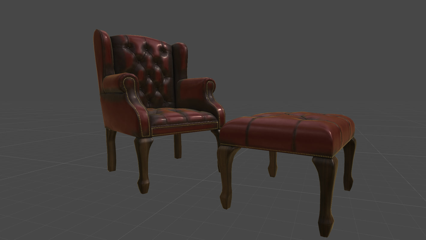 ... 3D pbr antique gothic chairs ... & 3D pbr antique gothic chairs - TurboSquid 1156110