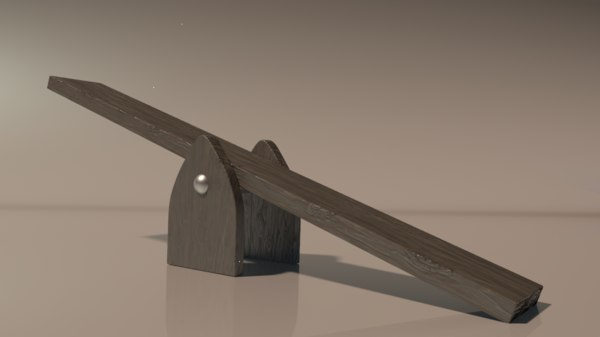 seesaw 3D model