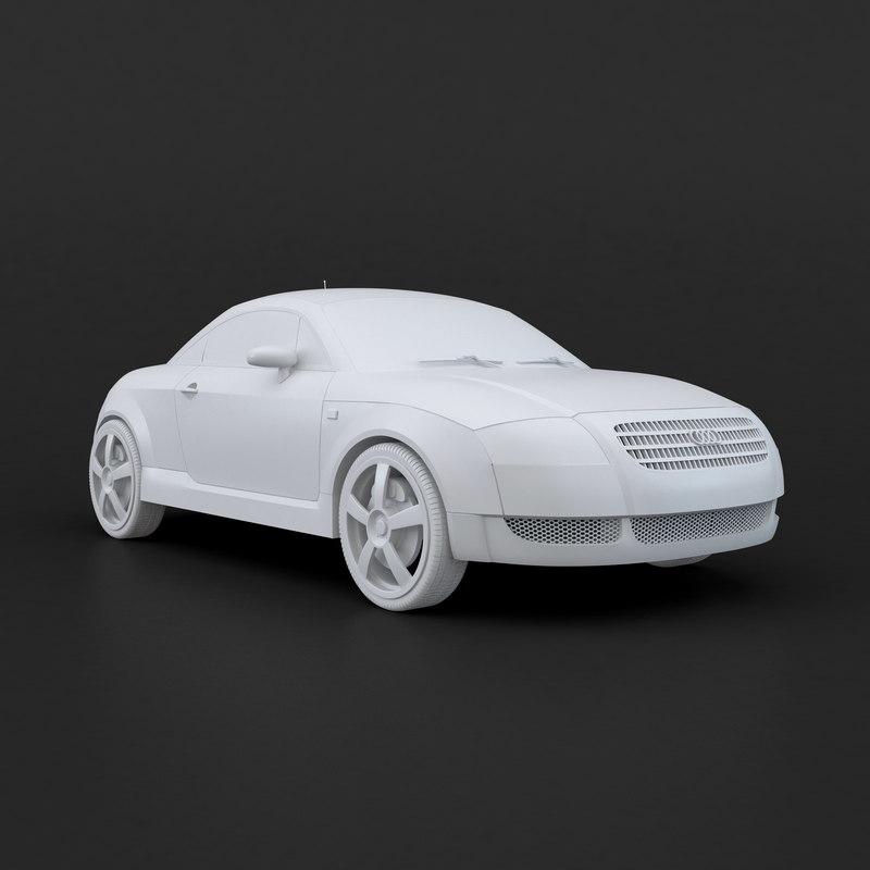 3D print car model